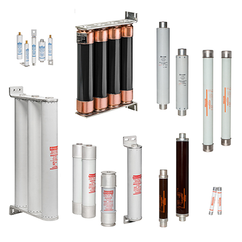 High and Medium Voltage Fuses and Fuse Bases