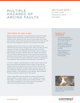 Cover - AFN1 - Multiple Hazard of Arcing Faults - Tech Topic